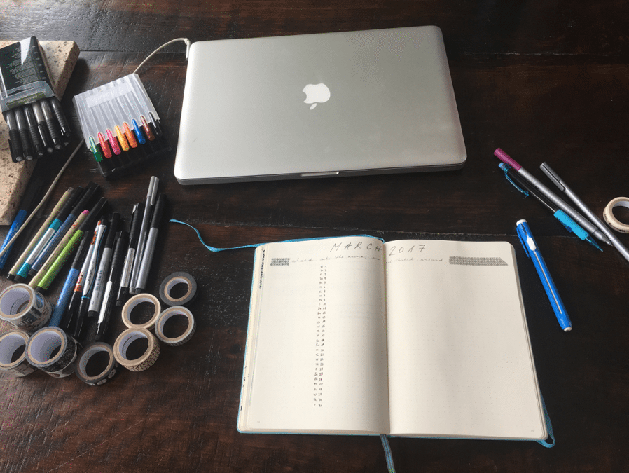 Bullet journaling through brain fog (Part 3)
