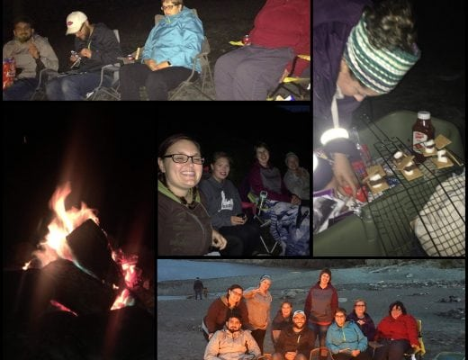 Localife St. John's says goodbye to summer with a bonfire at the beach!