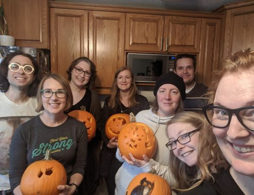 Localife Edmonton takes it out on the pumpkins