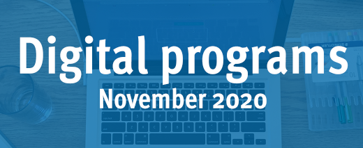Digital programs: November 2020