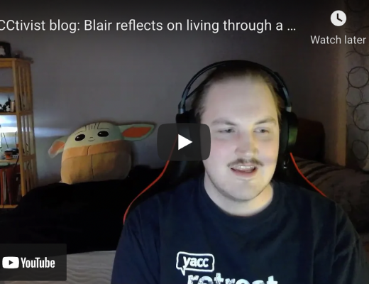 Blair reflects on living through a year of COVID-19